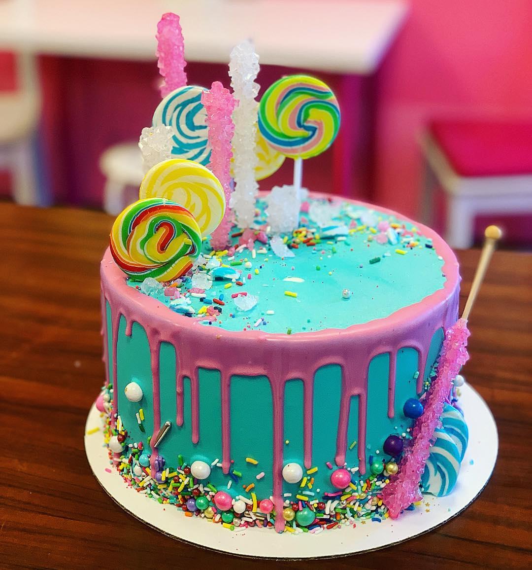 Surprising Hb Lollipop Sassy Cakes Birthday Cards Printable Inklcafe Filternl